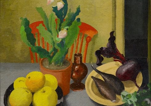 The Orange Chair, 1944, Sir Cedric Morris, © Philip Mould & Company, Cedric Morris Estate