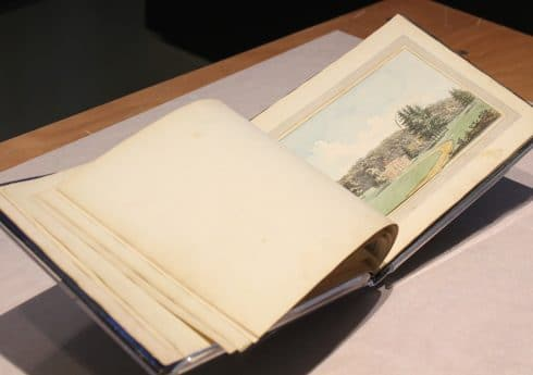 Humphry Repton Sundridge Park Red Book 1793, with kind permission of City and Country