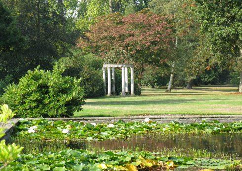 Wrotham Park walled garden