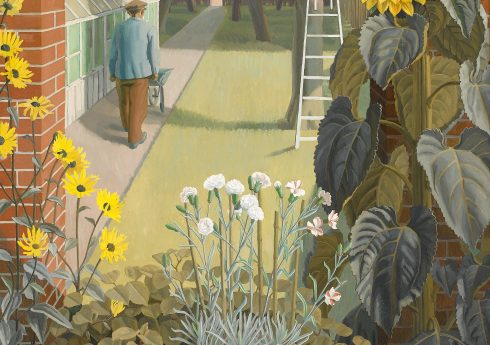 Charles Mahoney, The Garden (1950). Image courtesy of Liss Llewellyn